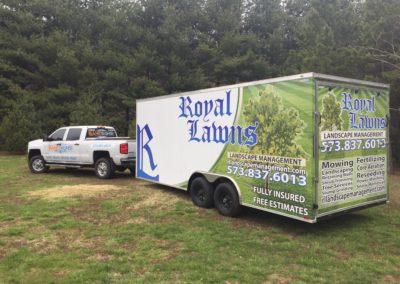 BahrSigns Enclosed trailer wrap st louis cape girardeau