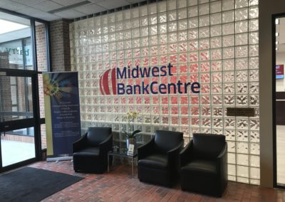 BahrSigns Midwest Bank Interior Sign St. Louis Sign