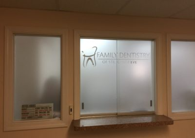 Bahrsigns Frosted glass